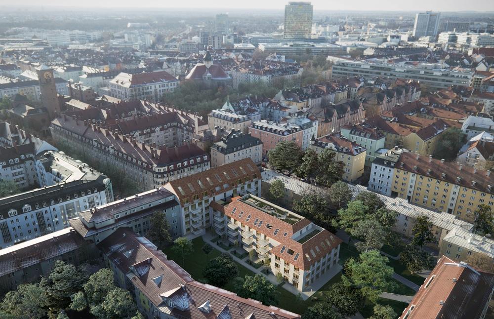 Munich, Schwanthalerhoehe